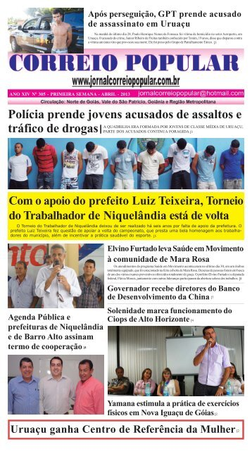 CORREIO NOVEMBRO - Jornal Correio Popular