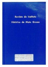 Revista 22 - Instituto Histórico e Geográfico de Mato Grosso
