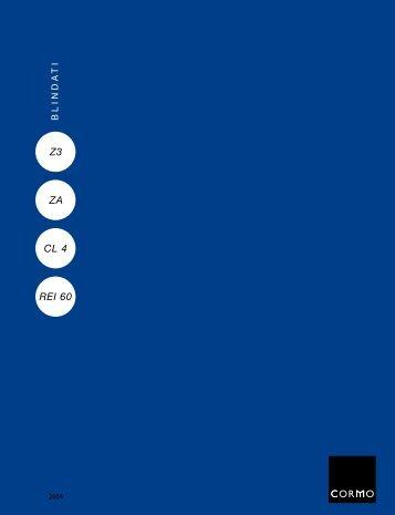 Catalogo PORTONCINI BLINDATI - Cormo