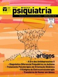 Revista Debates em - Associação Brasileira de Psiquiatria