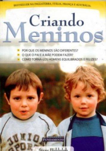 Ebook - Livro - Criando Meninos (Steve Biddulph). - Universo do Bebê