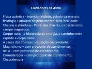 Cuidadores da Alma - Comunidadeespiritaramatis.com.br