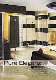 Pure Eleganz - B + S Finnland Sauna Bertschi Handels AG