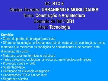 UC: STC 6 Núcleo Gerador