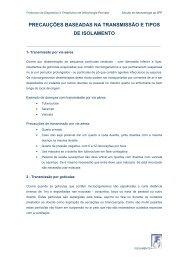 Isolamento - Tipos e precauções - Secção de Neonatologia SPP ...
