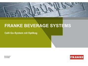 Sales Concept Franke Beverage Systems