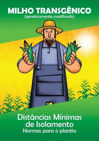 MILHO TRANSGÊNICO Distâncias Mínimas de Isolamento - Monsanto