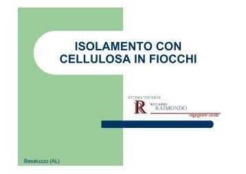 presentazione isolamento con cellulosa in fiocchi - Isolare la casa ...