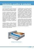 SISTEMA PER L'ISOLAMENTO ACUSTICO CONTRO IL RUMORE ... - Page 7