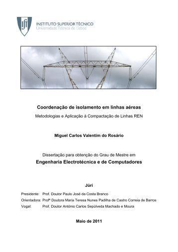 Coordenação de isolamento em linhas aéreas Engenharia ...