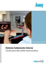 Sistema Isolamento Interno L'evoluzione del comfort termo ... - Knauf