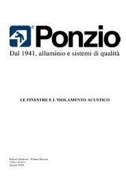 Le finestre e l'isolamento acustico - Pizzagalli Infissi Srl
