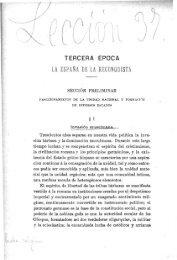 m TERCERA ÉPOCA LA ESPAÑA DE LA RECONQUISTA - Helvia ...