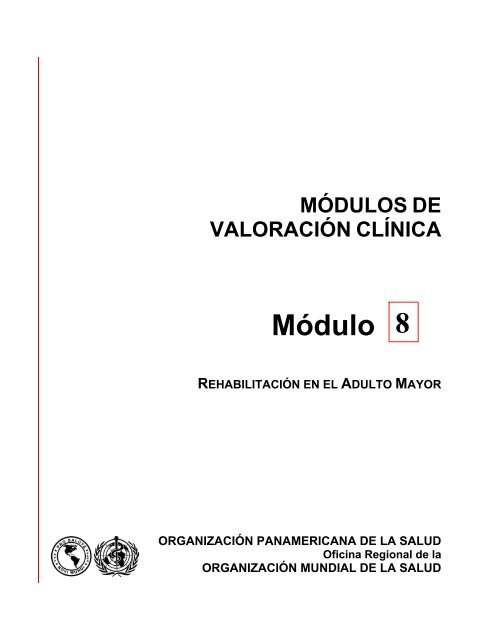 Módulo 8 Rehabilitación En El Adulto Mayor