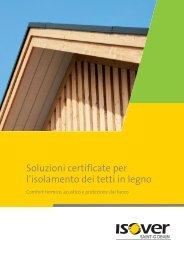 Soluzioni certificate per l'isolamento dei tetti in legno - Isover
