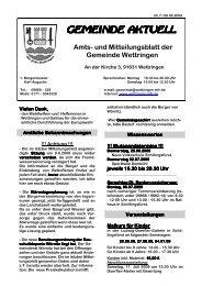 Mittblatt7 09 - Wettringen