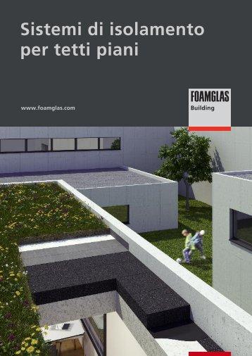 Sistemi di isolamento per tetti piani - Foamglas