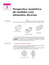 05. Perspectiva isométrica de modelos com elementos diversos