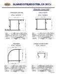 Catálogo - Aluminio | Perfiles de Aluminio | Anodizado - Page 6