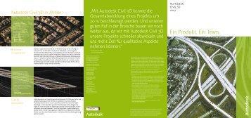 Autodesk Civil 3D 2007 Prospekt