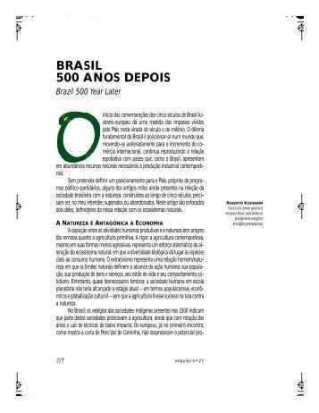 BRASIL 500 ANOS DEPOIS - Unimep