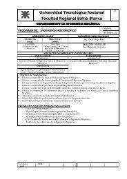 Ingenieria Mecanica III - Facultad Regional Bahía Blanca ...