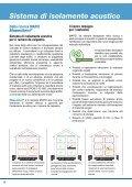 sistema per l'isolamento acustico contro il rumore da calpestio - Page 6