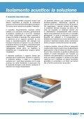 sistema per l'isolamento acustico contro il rumore da calpestio - Page 7