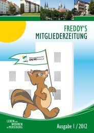 Mitgliederzeitung 1/2012 - Wohnungsgenossenschaft Merseburg eG