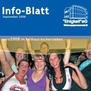 September 2008 - Wohnungsgenossenschaft Einigkeit eG ...