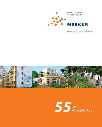 Festschrift der WG MERKUR 2012 - Wohnungsgenossenschaft ...