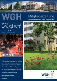 Ausgabe März 2013 - WGH Einheit