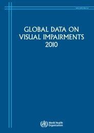 global data on visual impairments 2010 - World Health Organization