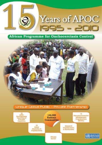 15 years of APOC - World Health Organization