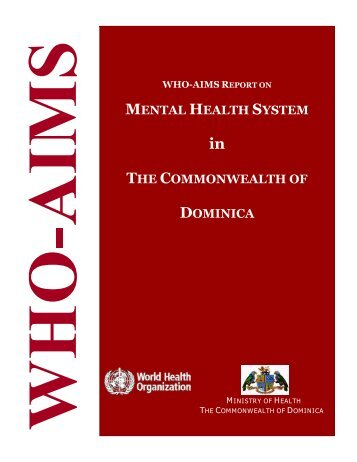 Dominica. Mental Health System in the Commonwealth of