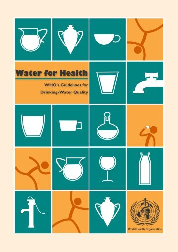 guidelines for drinkingwater quality world health