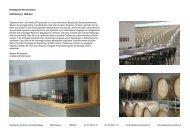 Weinmanufaktur _ 1. Geschoss - Rindisbacher Weinmanufaktur Bern