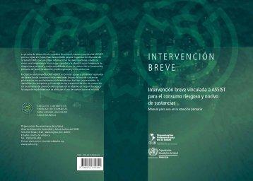Intervención breve vinculada a ASSIST para el consumo - PAHO/WHO