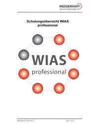 Termine/Schulungsinhalte - Wedderhoff IT GmbH