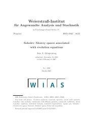 PDF (574 kByte) - WIAS