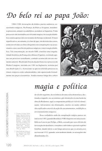 Do belo rei ao papa João: magia e política no reino de França ... - USP
