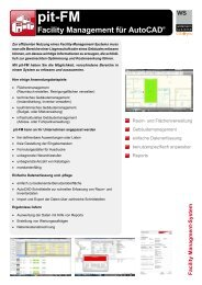 pit-FM - Facility Management für AutoCAD - Widemann Systeme ...