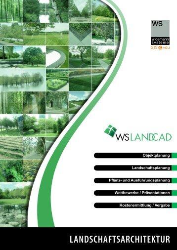 WS LANDCAD Landschaftsarchitektur - Widemann Systeme GmbH