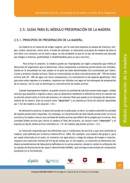 Módulo Preservación De La Madera Redmadera