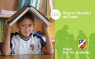 proyecto educativo - Colegio Lourdes