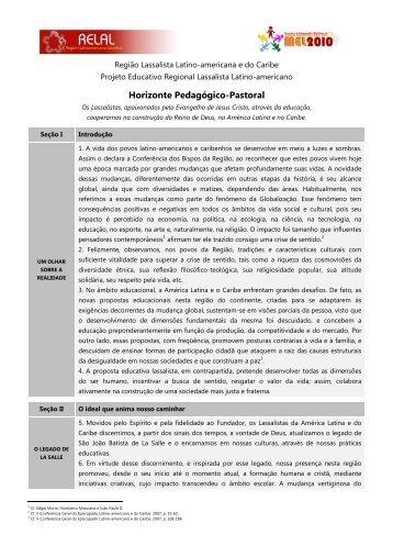 Confira aqui o documento - Portal La Salle