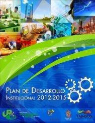 Plan de Desarrollo Institucional 2012-2015 - Universidad ...