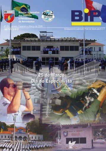 Boletim Informativo dos Inativos e Pensionistas da Aeronáutica ...