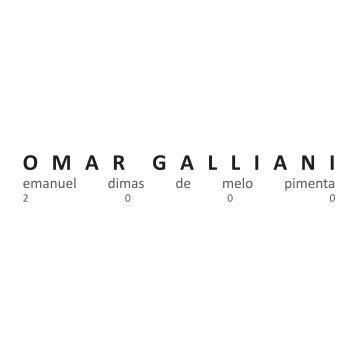 O M A R  G A L L I A N I - Emanuel Pimenta