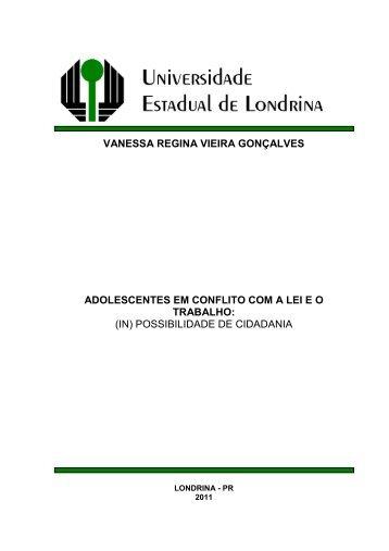 vanessa regina vieira gonçalves - Universidade Estadual de Londrina